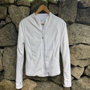 Lululemon |Reversible White Find Your Bliss Jacket